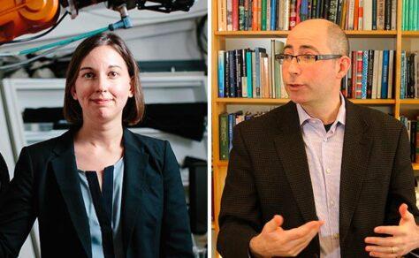 Julie Shah and David Kaiser